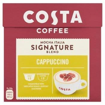 Costa Coffee Mocha Italia Dolce Gusto Cappuccino 146.4