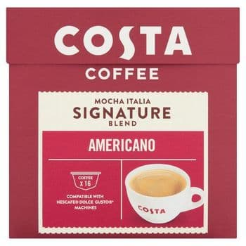 Costa Dolce Gusto Americano 16 Pack 121.6G
