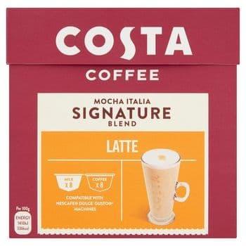 Costa Mocha Italian Signature Blend Latte 182.4G