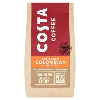 Costa Roast & Ground Coffee Colombian 200G