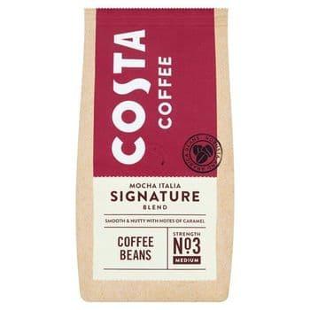 Costa Signature Blend Coffee Beans 200G