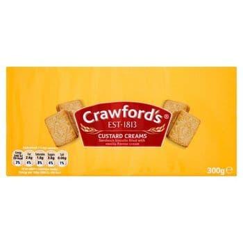 Crawfords Custard Creams 300G
