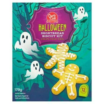 Create A Cake Skeleton Biscuit Kit 179G