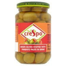 Crespo Olives Stuffed With Pimiento 354G