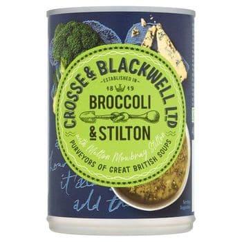 Crosse And Blackwell Best Of British Broccoli & Stilton Soup 400G