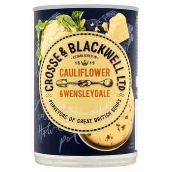 Crosse And Blackwell Cauliflower & Wensleydale Soup 400G