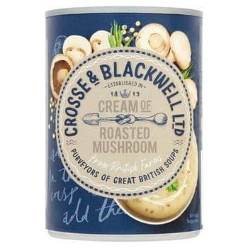 Crosse And Blackwell Cream Ofmushroom Soup 400G