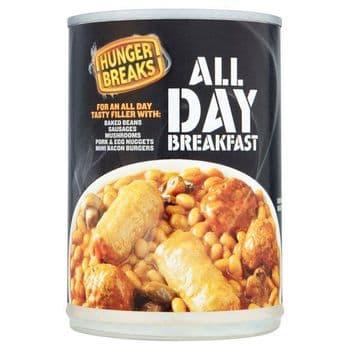 Crosse And Blackwell Hunger Breaks All Day Breakfast Beans 395G