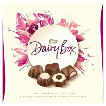 Dairy Box Milk Chocolate Classic Collection 180G