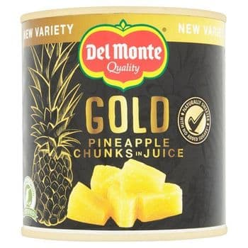 Del Monte Gold Pineapple Chunks In Juice 435G