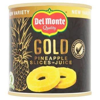 Del Monte Gold Pineapple Slices In Juice 435G