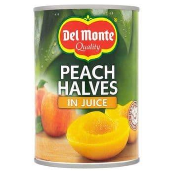 Del Monte Peach Halves In Juice 415G