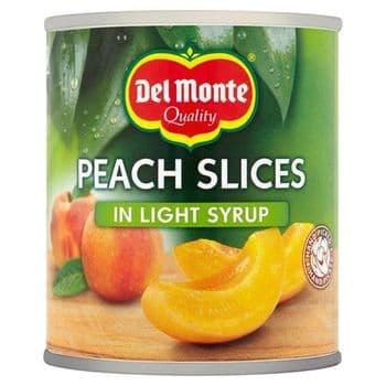 Del Monte Peach Slices In Syrup 227G