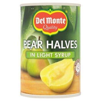 Del Monte Pear Halves In Syrup 420G