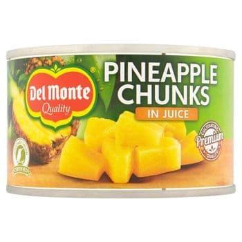 Del Monte Pineapple Chunks In Juice 230G