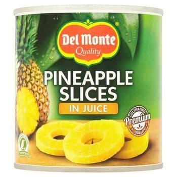 Del Monte Sliced Pineapple In Juice 435G