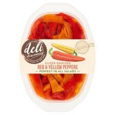 Deli Discovries Yellow And Red Peppers In Brine 200G