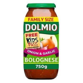 Dolmio Bolognese Onion & Garlic Pasta Sauce 750G