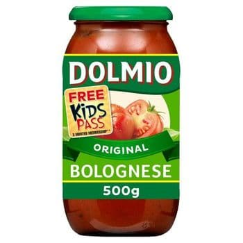 Dolmio Bolognese Original Pasta Sauce 500G