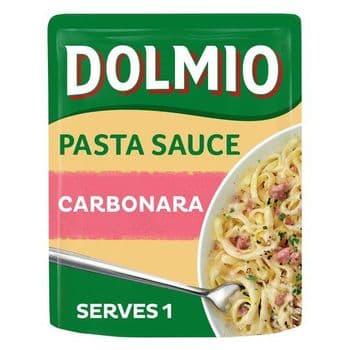 Dolmio Carbonara Pouch Pasta Sauce 150G