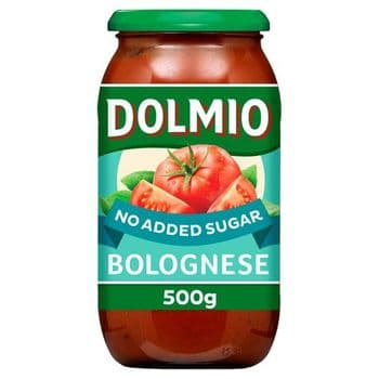 Dolmio Original Bolognese Pasta Sauce No Added Sugar 500G