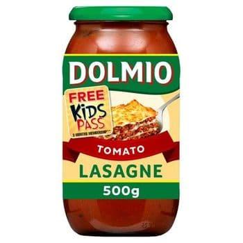 Dolmio Tomato Red Lasagne Sauce 500G