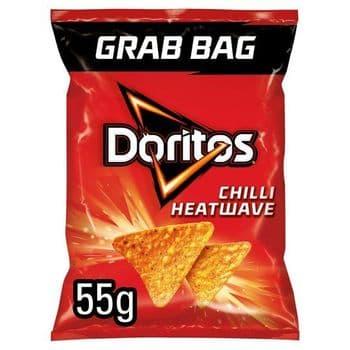 Doritos Chilli Heatwave Grab Bag 55G