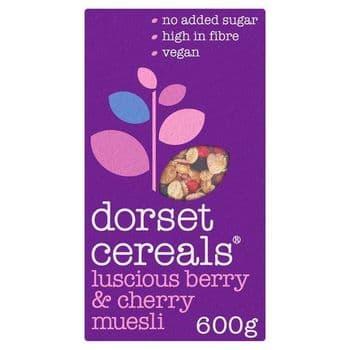 Dorset Cereals Berry & Cherry Muesli 600G