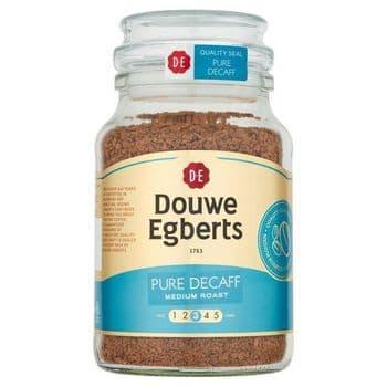 Douwe Egberts Pure Decaffeinated Instant Coffee 190G