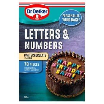 Dr Oetker Letters&Number Colour 40G