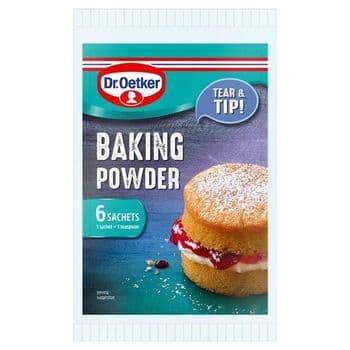 Dr. Oetker Baking Powder Sachets 6X5g