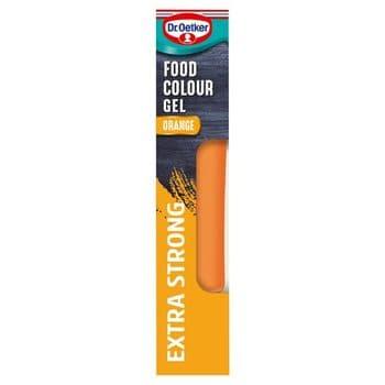 Dr. Oetker Extra Strong Orange Food Food Gel 15G