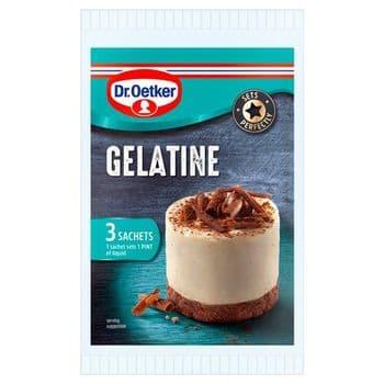 Dr.Oetker Gelatine Sachet 3X12g