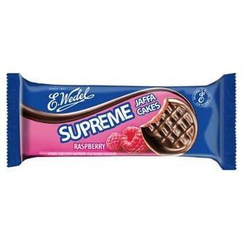 E Wedel Supreme Raspberry Jaffa Cakes 147G