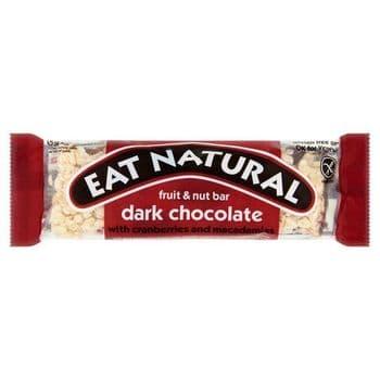 Eat Natural Gold Cranberry & Macadamia Fruit Bar 45G