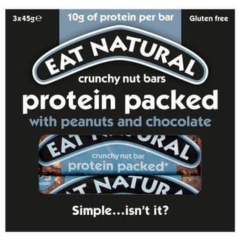 Eat Natural Protein Bar 3 X 45G