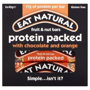 Eat Natural Protein Packed With Chocolate & Orange 3X45g