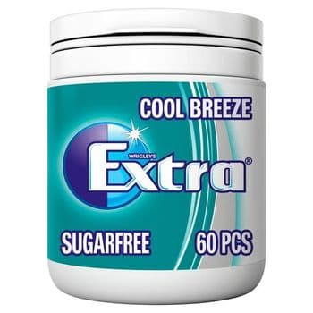 Extra Coolbreeze 60 Piece Bottle 84G
