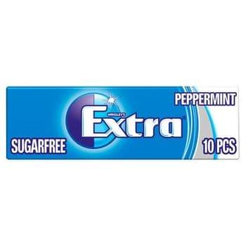 Extra Peppermint Gum 10 Pieces