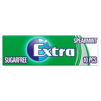 Extra Spearmint Gum 10 Pieces