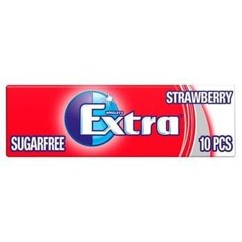 Extra Strawberry Gum 10 Pieces