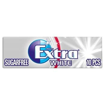 Extra White Peppermint Gum 10 Pieces