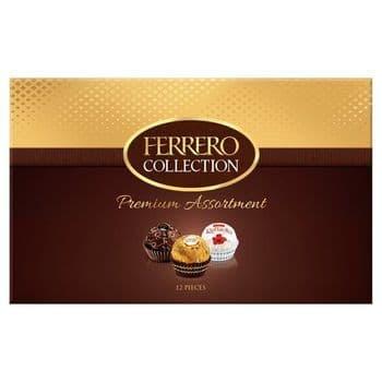 Ferrero Collection 12 Pieces Boxed Chocolates 135G