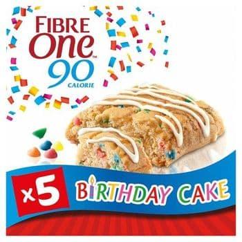 Fibre One Birthday Cake 5X24g Pack 120G
