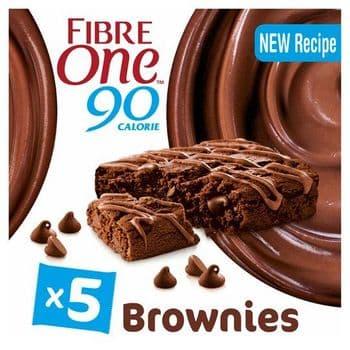 Fibre One Chocolate Fudge Brownie Reduced Sugar 5 X 24G