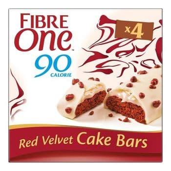 Fibre One Red Velvet Cake Bar 25 G