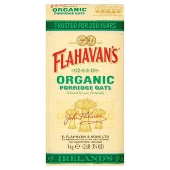 Flahavans Irish Organic Porridge 1Kgv