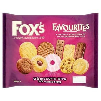 Fox's Favourites Assortment Biscuits 365G