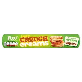 Fox's Ginger Crunch Creams 230G