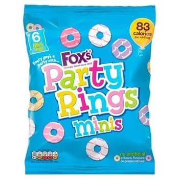 Fox's Mini Party Rings 120G